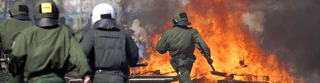 Polizei erwartet zahlreiche rechts- und linksextreme Gewalttäter und verschweigt daher den Ort der Nazidemo