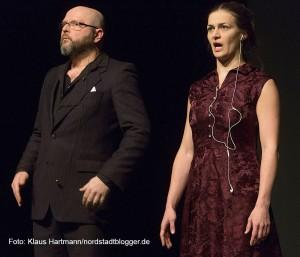 Jahrestreffen Artscenico im Depot. Matthias Hecht, Elisabeth Pleß