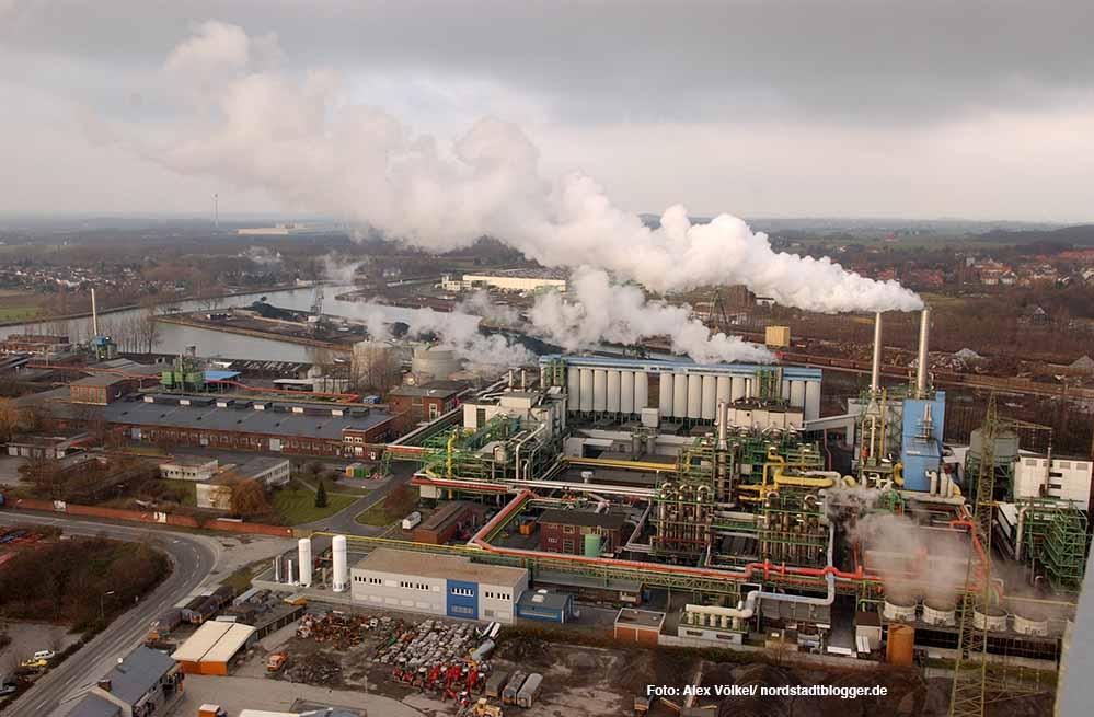 Die Prozesswärme der Gasrußwerke in der Nordstadt soll der CleanPort nutzen. Archivbild: Völkel