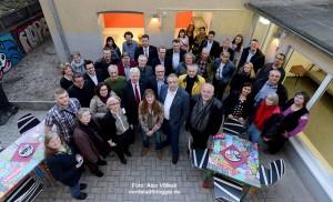Feierlich eröffnet wurden das JKC und das Respekt-Büro in der Rheinische Straße 135.