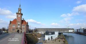Das Alte Hafenamt - unterhalb liegt das Tyde.