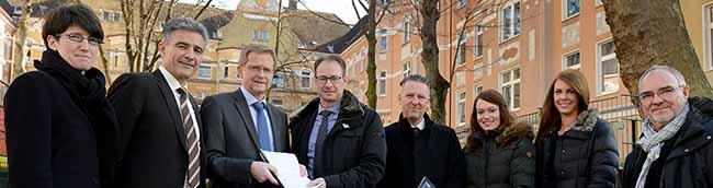 Spar- und Bauverein investiert 11,5 Millionen Euro in den Dortmunder Bestand – Land gibt 3,5 Millionen Euro dazu