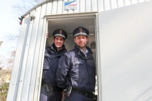 Bauwagen des Ordnungsamt startet auf dem Nordmarkt in die zweite Saison