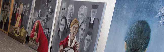"""""""Es lebe das Leben"""" : Ausstellung """"viva la vida!"""" mit Bildern von Ula Richter beim Bezent e.V. in der Nordstadt"""