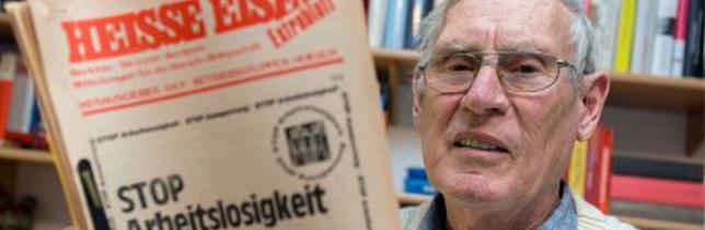 Ostermarsch-Urgestein Willi Hoffmeister: Ein ganzes Leben im Kampf gegen die Bombe und für eine gerechtere Welt