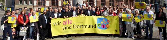"""Die Stadt Dortmund und die großen Religionsgemeinschaften starten gemeinsam die Kampagne """"Wir ALLE sind Dortmund"""""""