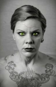 Die Dortmunderin Nora Bauckhorn spielt die Protagonistin mit tödlicher Absicht. Foto: TB