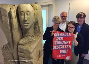 Jutta Reiter, Michael Vogt, Tina Malguth und Friedrich Stiller stellten das Programm vor.