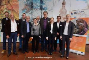 """Das Bleiberechtsnetzwerk """"Aufbruch Portin Plus"""" hat mit dem Dortmunder AK Kimble und der Stadt Dortmund das Forum organisiert."""