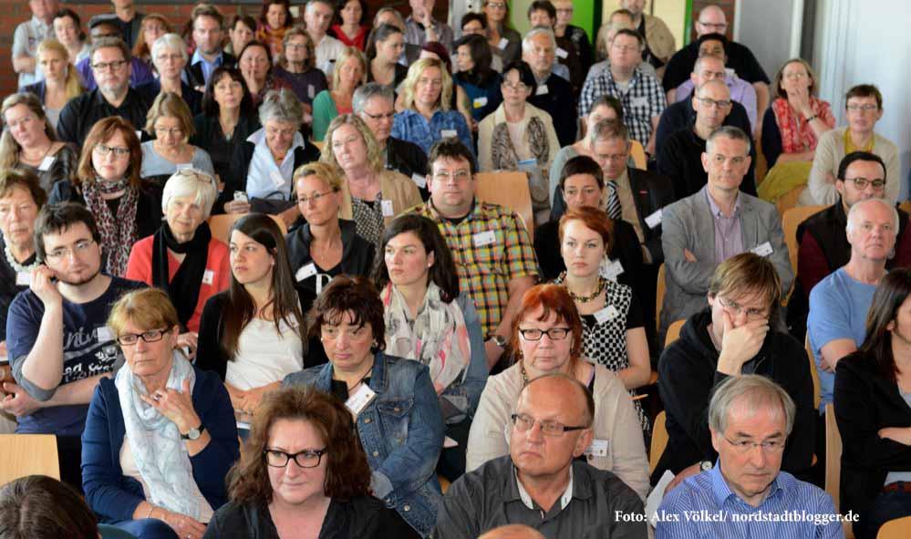 Rund 150 Interessierte nahmen am 3. Dortmunder Flüchtlingsforum teil.