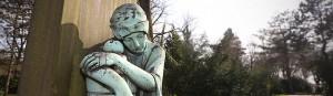 Gründung eines Förderkreises zur Erhaltung historischer Grabmale auf dem Nordfriedhof durch Gerda Horitzky