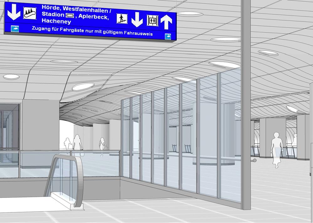 Für die Glasgestaltung Stadtbahnanlage im Hauptbahnhof werden Künstler gesucht.
