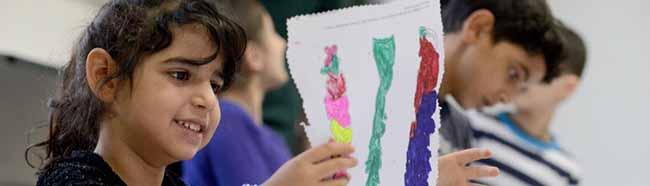 """Spielerisch-künstlerische Sprachförderung im Künstlerhaus: Kinder erzählen bei """"My Story"""" ihre Geschichte(n)"""