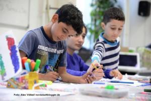 Piratengold heißt das Nachbarschaftsprojekt für Kinder im Künstlerhaus.