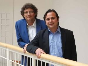 Viktor Kidess (links) und Levent Arslan bilden das neue Führungsduo im Dietrich-Keuning-Haus.
