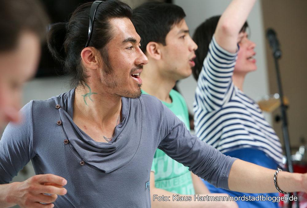 20 Jahre JAWOLL Jugendhilfeprojekt der GrünBau gGmbH. Theaterprojekt: Sugar Snap Paradise