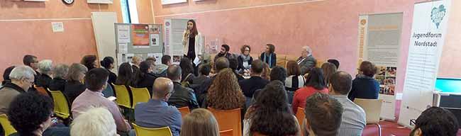 """Migrationsdebatte im Jugendtreff Stollenpark: """"Nicht über, sondern mit den Jugendlichen diskutieren"""""""