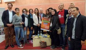 Zum Abschluss gab es ein Gruppenfoto mit Minister Guntram Schneider.