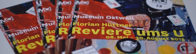 """Florian Hüttner untersuchte """"Reviere ums U"""" – Ausstellung im Schaufenster des Museum Ostwall"""