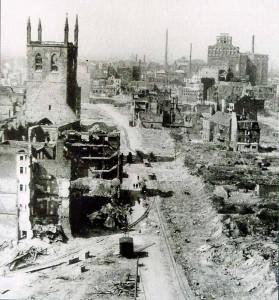 Dortmund zu Kriegsende - die Innenstadt war größtenteils zerstört. Foto: Stadtarchiv Dortmund