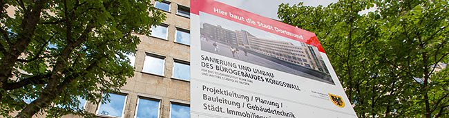 """""""Lernen in schöner Umgebung"""": Der Umbau des ehemaligen AOK-Gebäudes für das Studieninstitut Ruhr hat begonnen"""