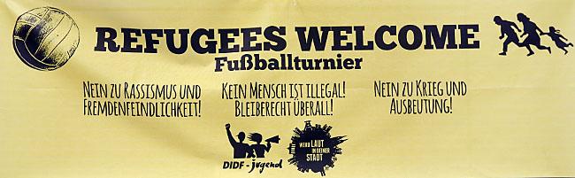 """""""Refugees Welcome"""": Fußballturnier in Dortmund will Jugendliche für die Situation von Flüchtlingen sensibilisieren"""