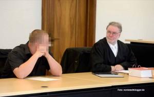 Der 24-jährige Neonazi Andre P. muss sich gleich wegen vier unterschiedlicher Verfahren vor Gericht verantworten.