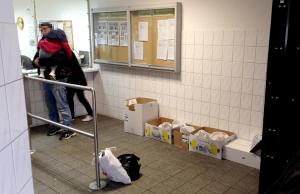 Die Außenstelle des Bundesamtes für Migration und Flüchtlinge in der Huckarder Straße.