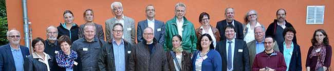 Große Hilfsbereitschaft für Flüchtlinge:  Katholisches Stadtgremium besucht die Hauptschule am Ostpark