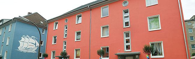 Die Hilfe schläft nur ein Stockwerk höher:  Die inklusive Hausgemeinschaft in der Nettelbeckstraße