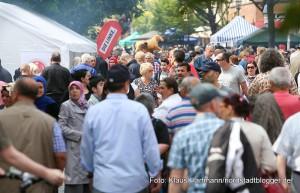 17. Münsterstraßenfest des Integrationsrates. Am Nachmittag gut besucht