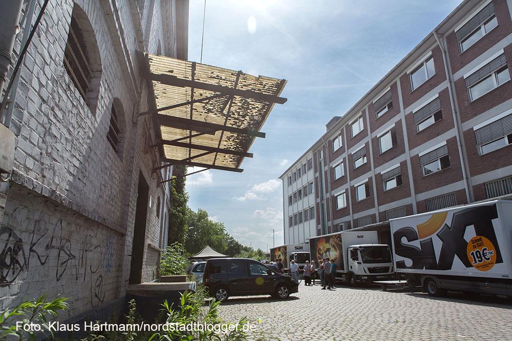 Nordwärts: Wanderung durch das Hafen-Quartier mit Quartiersmanagerin Heike Schulz. In der Speicherstraße