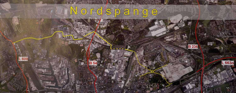Die Nordspange soll eine Entlastung vor allem für die Nordstadt, aber auch Eving und Huckarde bringen.