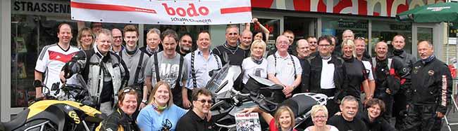 """""""biken für bodo"""": 4. Charity-Motorradtour zugunsten des bodo e.V."""