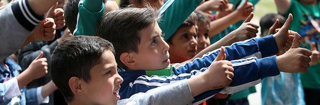 """""""Pille, Palle, Hühnerkralle"""": Zauberspruch macht auf dem Internationalen Kinderfest fast alles möglich"""