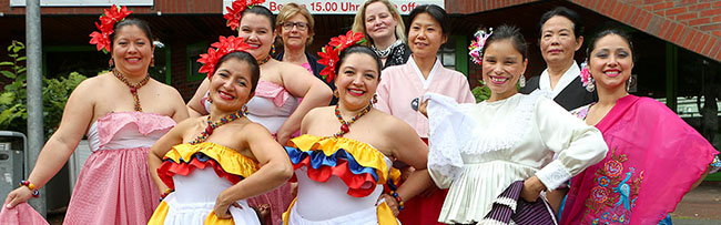 Tanzfolk 2015: Das Internationale Tanzfestival im Dietrich-Keuning-Haus präsentiert Folklore aus aller Welt