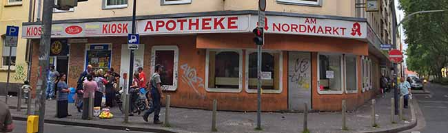 Bis zum Jahresende sollen endlich Ordnungsamts-Beschäftigte in die ehemalige Nordmarkt-Apotheke einziehen