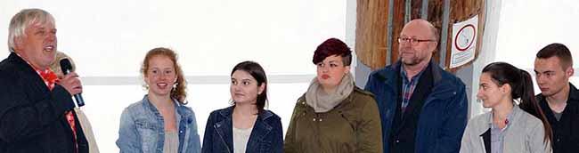 Bildungspartnerschaft:  Jugendring und Droste-Hülshoff-Realschule unterzeichnen Kooperationsvereinbarung