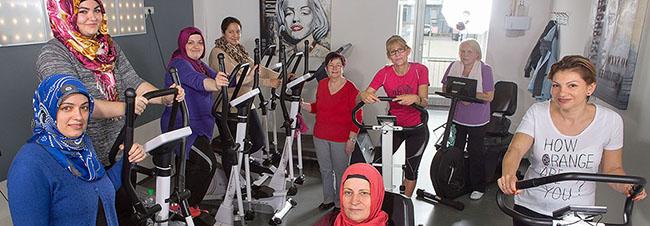 Frauen-Sportgruppe Balancée: Bei den Themen Gesundheit und Gewicht spielt die Herkunft keine Rolle