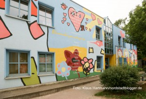 SPD-Fraktionsmitglieder im FABIDO-Betriebsausschuss erörtern Erweiterungsmöglichkeiten bei bestehenden Kindertagesstätten in Nordstadt. Münsterstraße 158c