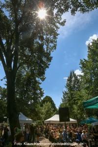 Auftakt Musik.Kultur.Picknick 2015 am Nordmarkt mit Tommy Finke und Pele Caster