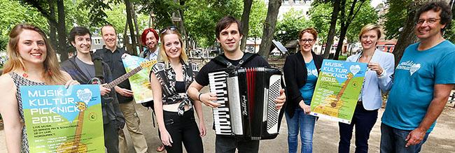 """""""Musik.Kultur.Picknick"""": Nordstadt-Veranstaltungsformat geht mit neuem Konzept und Förderungsprogramm ins 13. Jahr"""