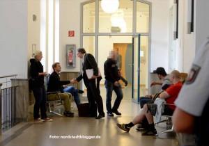 "Erstes ""Rathaus-Sturm""-Verfahren: Prozess gegen Neonazi Patrick Michael Brdonkalla."