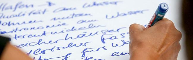Wünsche, Potentiale, Mängel und Visionen für die Nordstadt: Nordwärts-Forum produzierte viele Buchstaben
