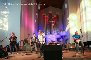 Hafenspaziergang 2015. Halleluyeah-Festival in der Pauluskirche mit Clox