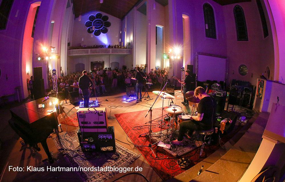 Hafenspaziergang 2015. Halleluyeah-Festival in der Pauluskirche mit The Rival Bid