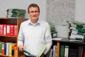 Rechtsanwalt Martin Grebe, Leiter des Bereiches Miet- und Wohnungsrecht beim Mietervereins Dortmund