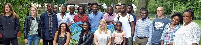 Verein Junger Deutschafrikaner will Landsleuten bei der Integration mit Rat und Tat zur Seite stehen