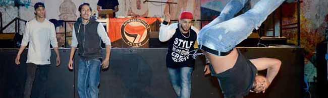 Fotostrecke: Die Block-Party lockt mit Musik, Sport und Kreativangeboten ins Dietrich-Keuning-Haus