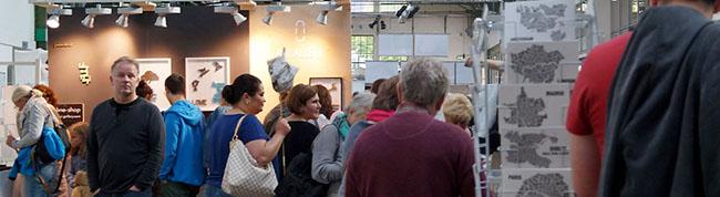 Design-Gipfel im Depot lockt zahlreiche Besucher mit vielfältigem Angebot an